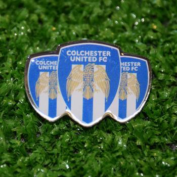 3 Crest Pin Badge