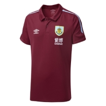 ADULT POLY POLO CLARET