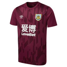 ADULT WARM UP JERSEY CLARET