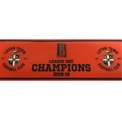 Luton Town Champions Car Sticker