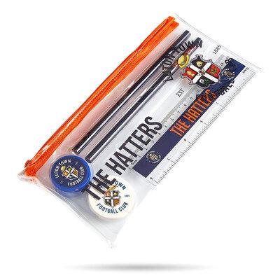 Luton Town Clear Pencil Case