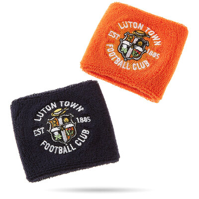 Luton Town Navy and Orange Sweat Bands