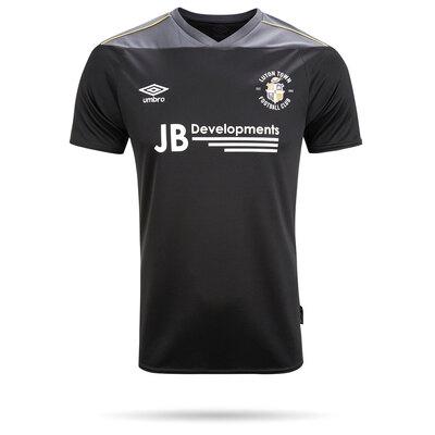 20/21 Luton Town Umbro Black Goal Keeper Shirt Junior