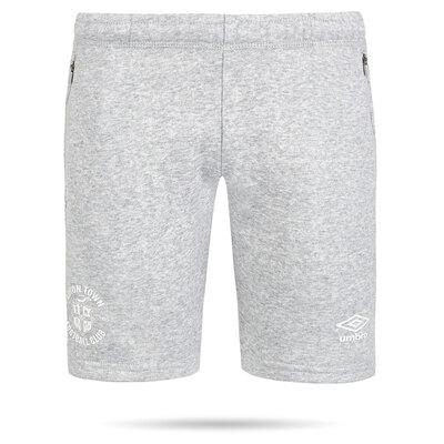 20/21 Luton Town Umbro Grey Club Jog Shorts Junior