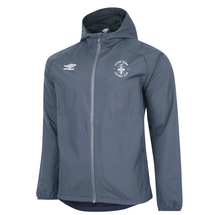 20/21 Luton Town Umbro Grey Premier Shower Jacket Junior