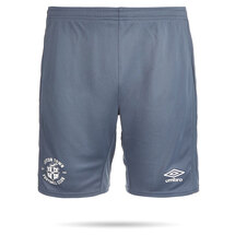 20/21 Luton Town Umbro Grey Premier Training Shorts Junior