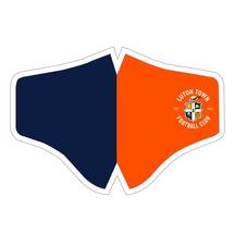 20/21 Luton Town Orange And Navy Kit Face Mask