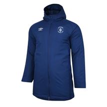 20/21 Luton Town Umbro Navy Premier Padded Jacket Adult