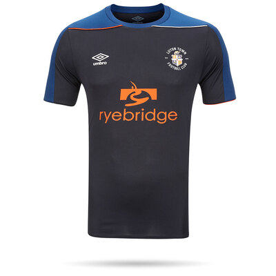 20/21 Luton Town Umbro Navy Shirt Junior