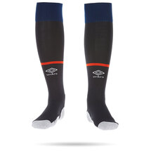 20/21 Luton Town Umbro Navy Socks Junior