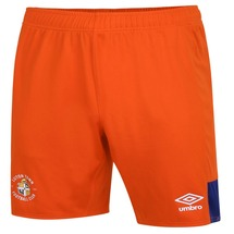 20/21 Luton Town Umbro Orange Shorts Adult