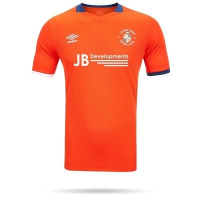 20/21 Luton Town Umbro Orange Home Shirt Junior