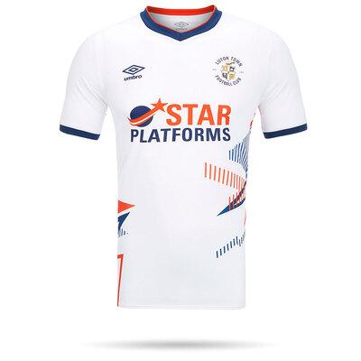 20/21 Luton Town Umbro White Shirt Adult