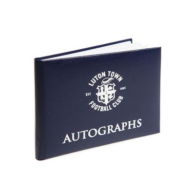 Luton Town Autograph Book