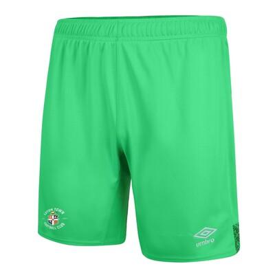 21/22 Green Goalkeeper Shorts Adult