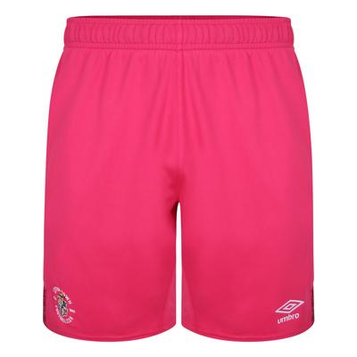 21/22 Pink Goalkeeper Shorts Junior