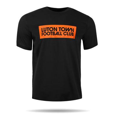 Luton Town Black Graphic Tee