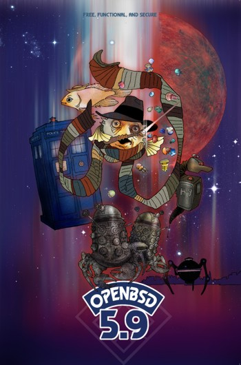 OpenBSD 5.9 Poster