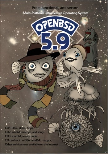 OpenBSD version 5.9