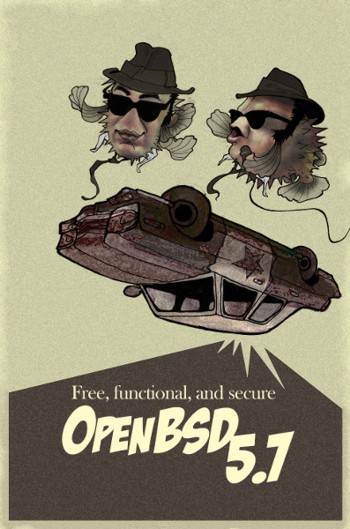 OpenBSD 5.7 Poster