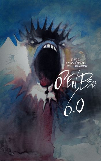 OpenBSD 6.0 Poster