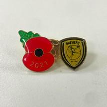 Poppy Pin Badge 2021