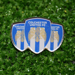 3 Crest Pin Badge