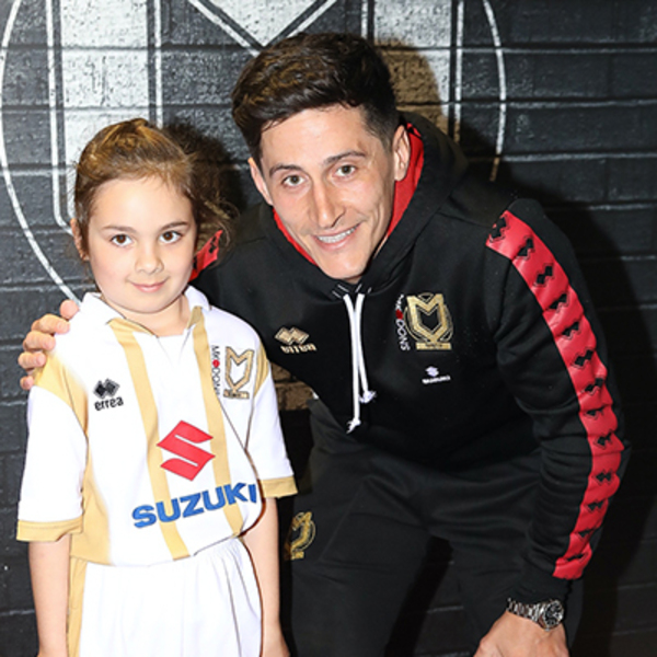 MK Dons Mascot Package