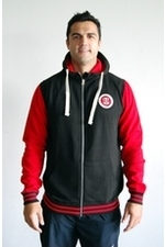 URBAN VARSITY ZIP HOODIE CHILD