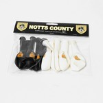 10 PACK NCFC BALLOONS          ALL WITH CLUB CREST