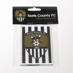 LARGE NCFC FRIDGE MAGNET       ACRYLIC OBLONG WITH HEADERCAR