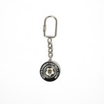FOOTBALL SPINNER KEYRING       NOTTS COUNTY CLUB CREST