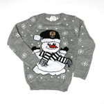 JUNIOR CHRISTMAS JUMPER        NCFC SNOWMAN