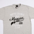 MAGPIES TEE SHIRT              SCREEN PRINTED DESIGN