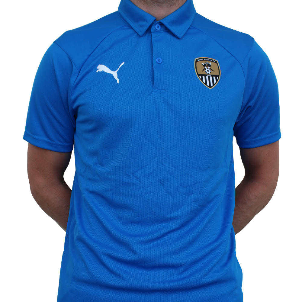 PUMA TRAINING/TRAVEL POLO      1819 SEASON