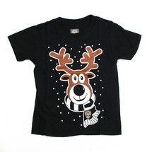 JUNIOR XMAS REINDEER TEESHIRT  COUNTY CHRISTMAS