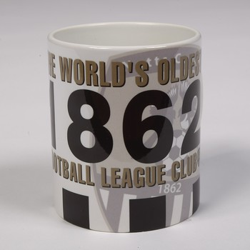 1862 THE WORLDS OLDEST MUG     WITH LARGE CLUB CREST