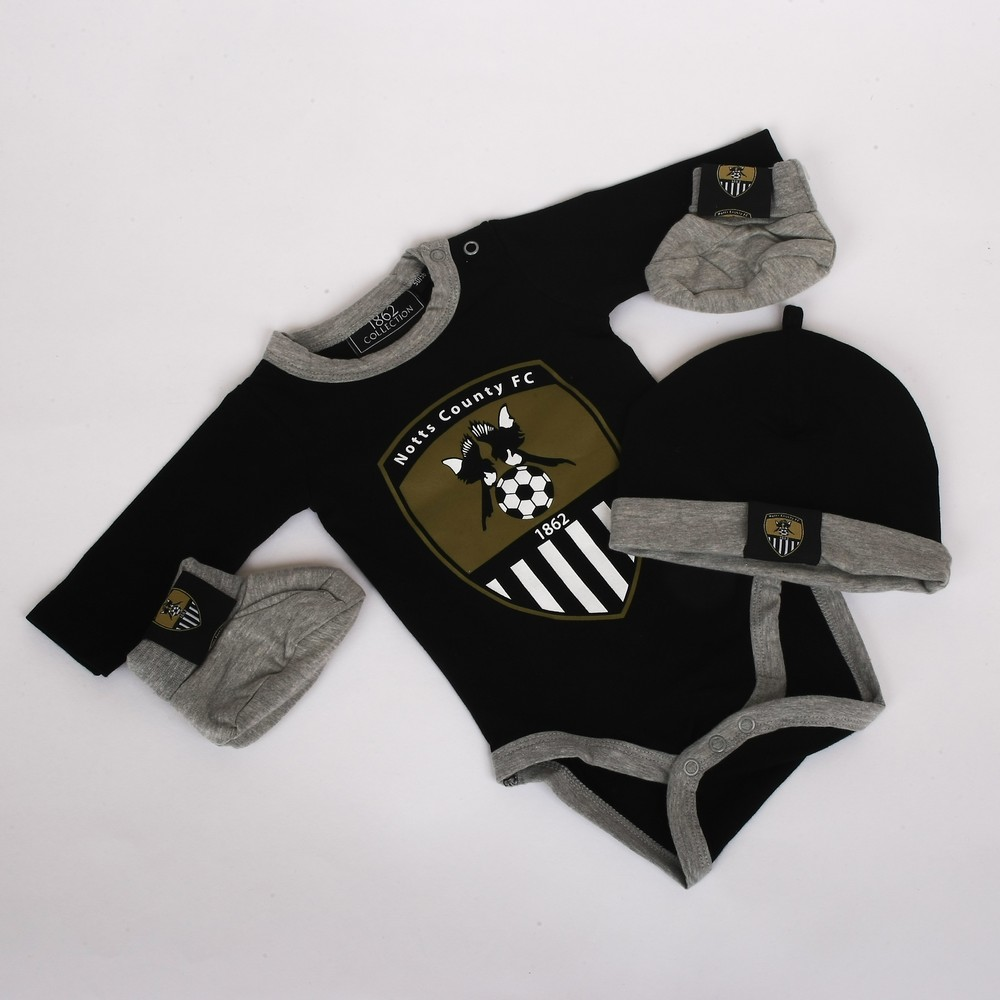 3 PACK BABY SET                WITH CLUB CREST