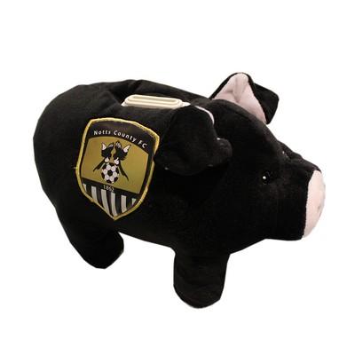 CUDDLY PLUSH PIGGY BANK