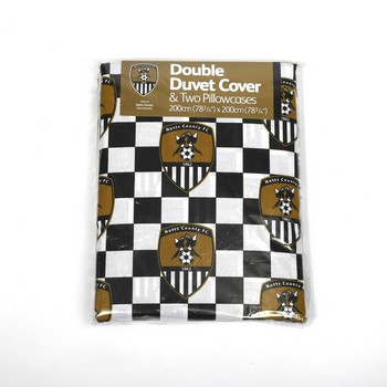 DOUBLE DUVETCOVER  COTTON      WITH PILLOWSLIPS