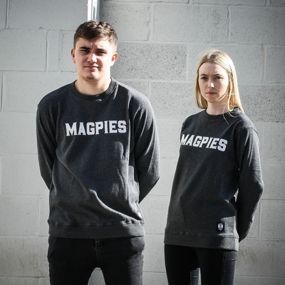 KNITTED MAGPIES SWEATER        1862 COLLECTION UNISEX