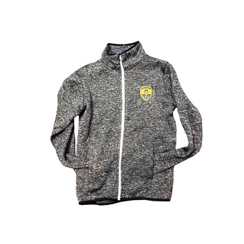 KNITTED FLEECE JACKET FULL ZIP 1862 COLLECTION