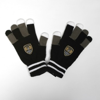 NCFC GLOVES                    MULTI COLOURED FINGERS