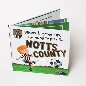 WHEN I GROW UP                 I WANT TO PLAY FOR NOTTSCOUNT