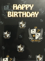 CREST BIRTHDAY CARD