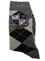 ARGYLE TWIN PACK SOCKS