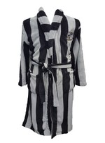 STRIPPED DRESSING GOWN