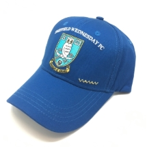 Embroidered Crest Cap