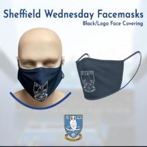 Black/Logo Face Covering