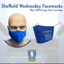 Blue SWFC/Logo Face Covering